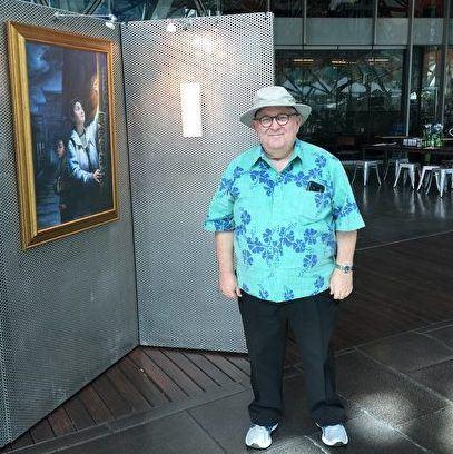 '图4:来自夏威夷的媒体公司ThinktechHawaii总裁菲德尔(JayM.Fidell)先生'