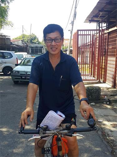 '图18:增江北区当地居民黄林先生。'