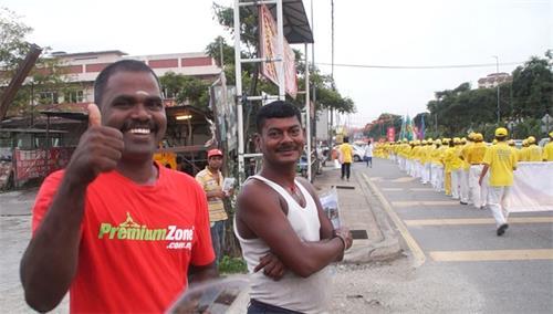 '图21:沙登新村印裔民众Raju先生。'
