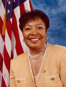 '图3:美国资深国会女议员Eddie?Johnson'