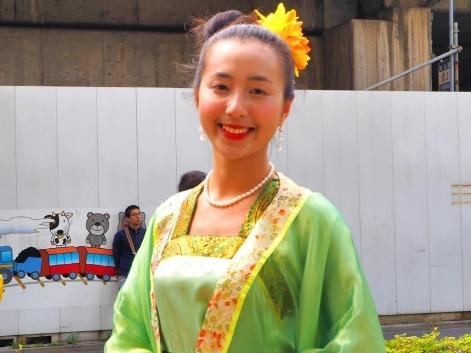 图5:越南留学生Row Ti Mine表示,修炼后身心都受益匪浅。