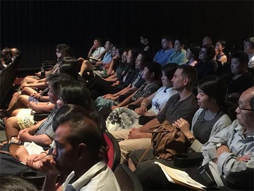 """'图3:纪录片《求救信》在第41届""""纽约亚裔国际电影节""""上放映'"""
