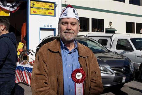 '图10:旧金山湾区退伍军人总指挥TerryMurphy'