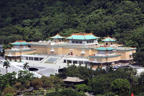 图1:位于台北市外双溪的国立故宫博物院(简称台北故宫),是中国大陆游客参访的热门景点之一。