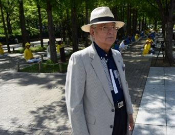 '图14:随团队来神户旅游的橘先生'
