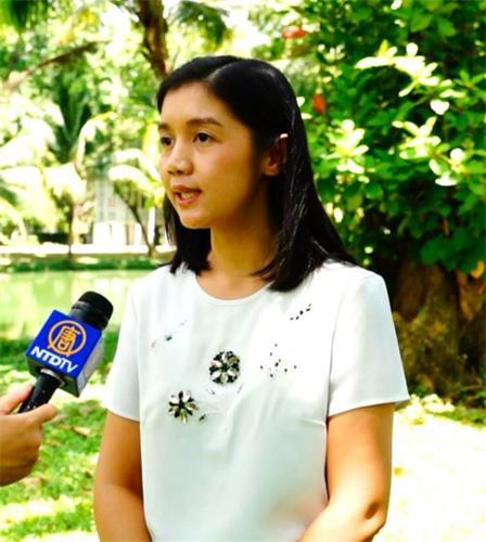 '图5:泰国法轮功学员、药剂师PanjitMitaka女士'
