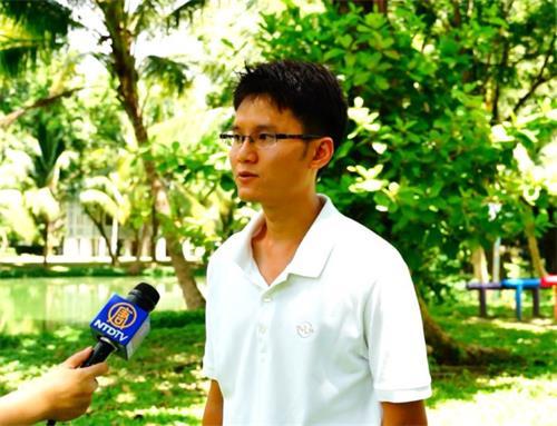 '图6:泰国法轮功学员Ahtit先生'