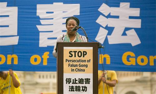 圖4:美國德州國會眾議員希拉·傑克遜·李(Sheila Jackson Lee)