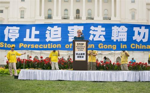 图5:美国国际宗教自由委员会副主席盖尔·曼钦(Gayle Manchin)
