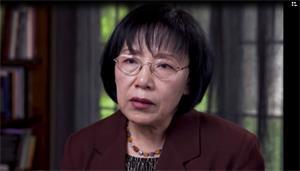 '在中国外经贸部上班的张亦洁被强行绑架'