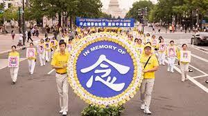 '海外游行纪念被迫害致死的法轮功学员'