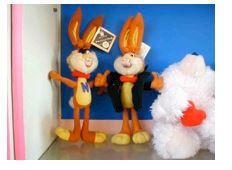 '你能想像可爱的小兔子来自监狱吗?'