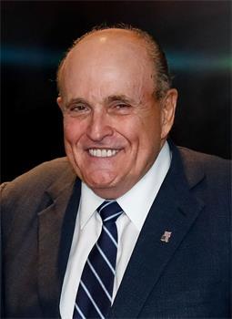 '图1:前纽约市长、川普总统的私人律师鲁迪·朱利安尼(RudyGiuliani)'