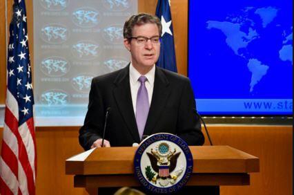 '图:美国国际宗教自由大使布朗贝克谴责中共对信仰的迫害'