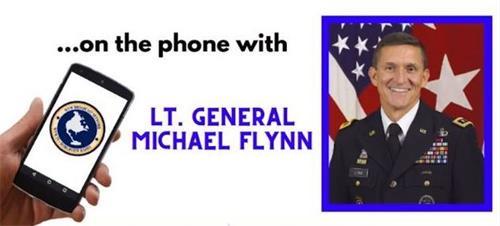 图:弗林(Michael Flynn)将军接受《世界观周末》(Worldview Weekend)豪斯(Brannon Howse)的电话采访时警告,美国正在度过历史性的危险政变时期。(网络截图)