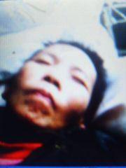 '被监狱迫害瘫痪在床的刘伟珊'