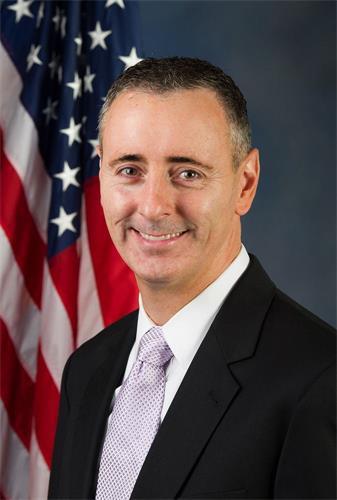 '图3:美国共和党籍众议员布莱恩·菲茨帕特里克(BrianFitzpatrick)。'