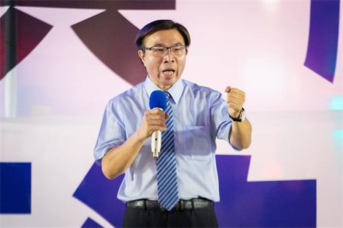 '图9:台北市议员张茂楠。'