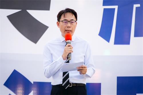 '图10:全球退党服务中心台湾志工代表刘秉华。'