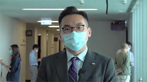 '图10:公民党党魁杨岳桥'