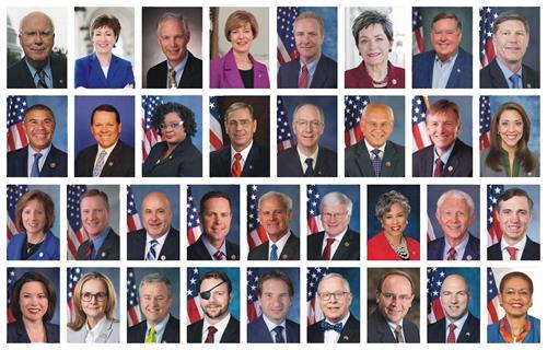 法轮功反迫害二十一周年,三十四位美国联邦参众议员谴责中共