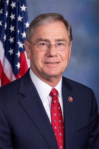 '圖13:法輪功反迫害二十一周年,密蘇裏州(Missouri)共和黨籍聯邦眾議員布萊恩‧路特克梅耶(Rep.