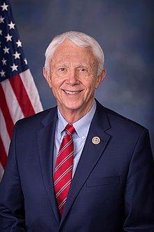 '圖25:法輪功反迫害二十一周年,密西根州(Michigan)共和黨籍聯邦眾議員傑克·貝格曼(Rep.