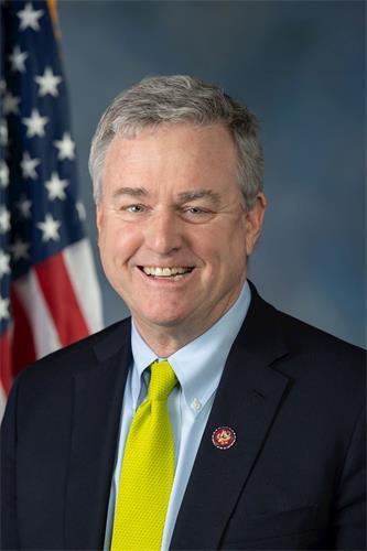 '图29:法轮功反迫害二十一周年,马里兰州(Maryland)民主党籍联邦众议员戴维·特朗(Rep.