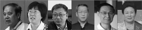 '从左到右分别为:秦维强、商敬工、丛晓峰、施泉玉、曹永明、李梅'