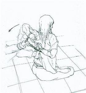 '酷刑:浇凉水背铐'