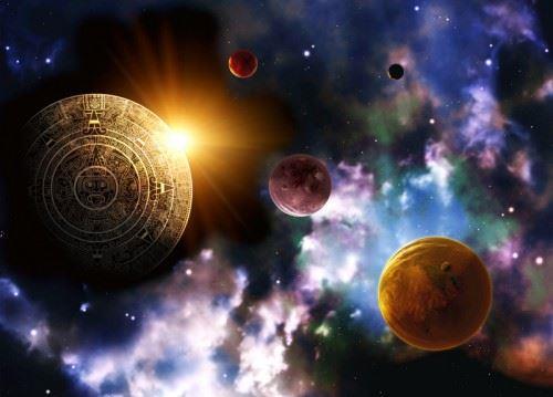 '图1:预言并非虚无飘渺。那是天机隐现,启示众生。千百年来,人类一直在等待,等待希望。'