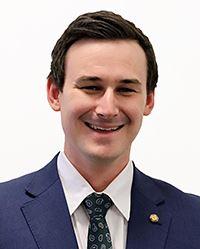 '图1:澳洲昆士兰州帮尼选区议员山姆·奥康纳(SamO'Connor)先生。'