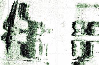 '图13:由精密的声纳绘制的部份区域'