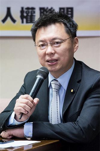 '图3:民进党籍立法委员赵天麟。'