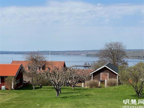 '图3~4:瑞典法伦市自然风景秀丽,亦因其铜矿而驰名世界。'
