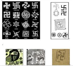 """'遍及世界各地的神秘""""卍""""(网络图片)'"""