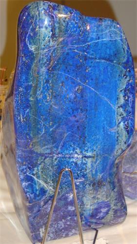 图例: 青金石(Lapis lazuli)图片。